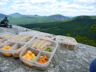 Hiking A Mountain In Delicious Style