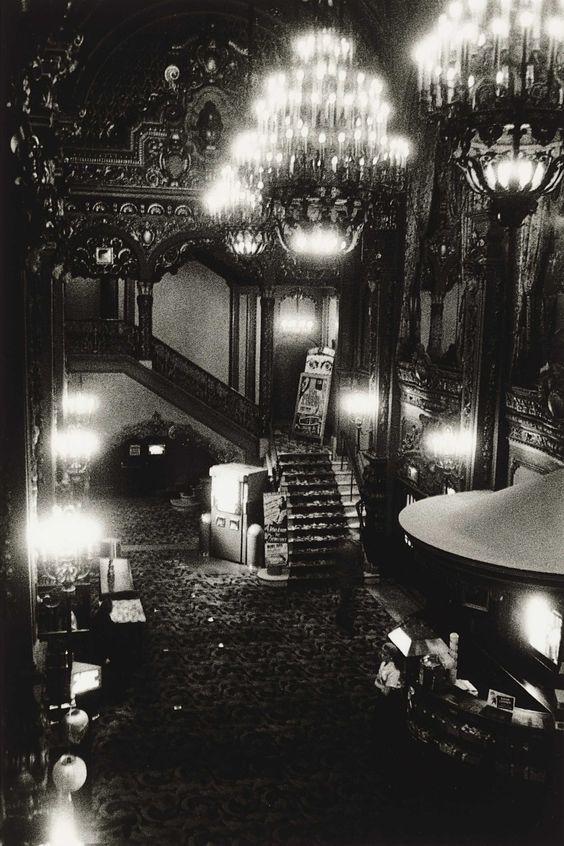 © Diane Arbus - Movie Theater Lobby, NYC, 1958