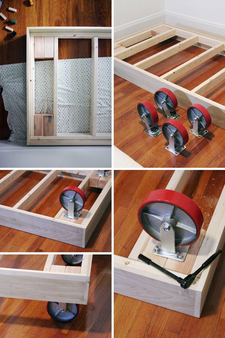 Project Little Smith: DIY: Bed on Wheels