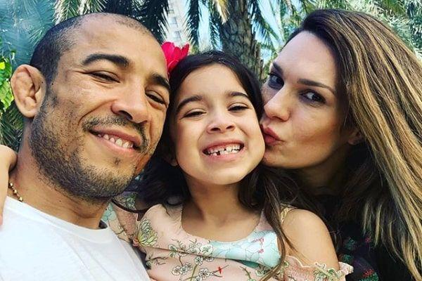 Meet Joanna Aldo Photos Of José Aldo S Daughter With Wife Vivianne Aldo Ecelebritymirror Celebrity Babies José Aldo Daughter