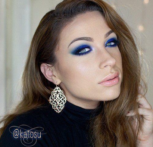 Cudne niebieskie oko stworzone przez KatOsu :)