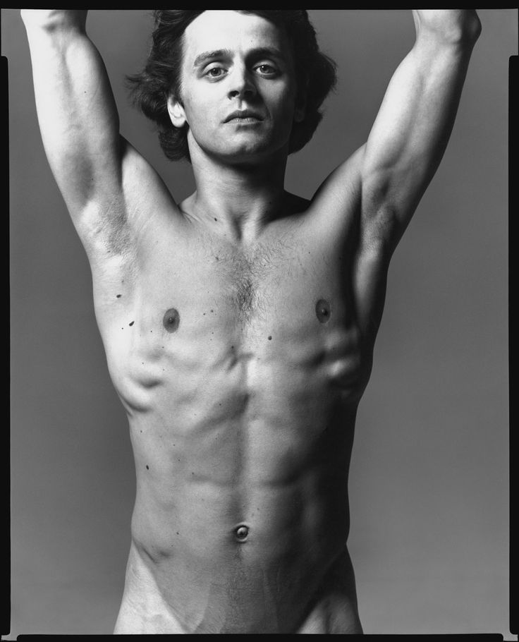 Richard Avedon -  Mikhail Baryshnikov, ballet dancer, New York, June 20, 1978