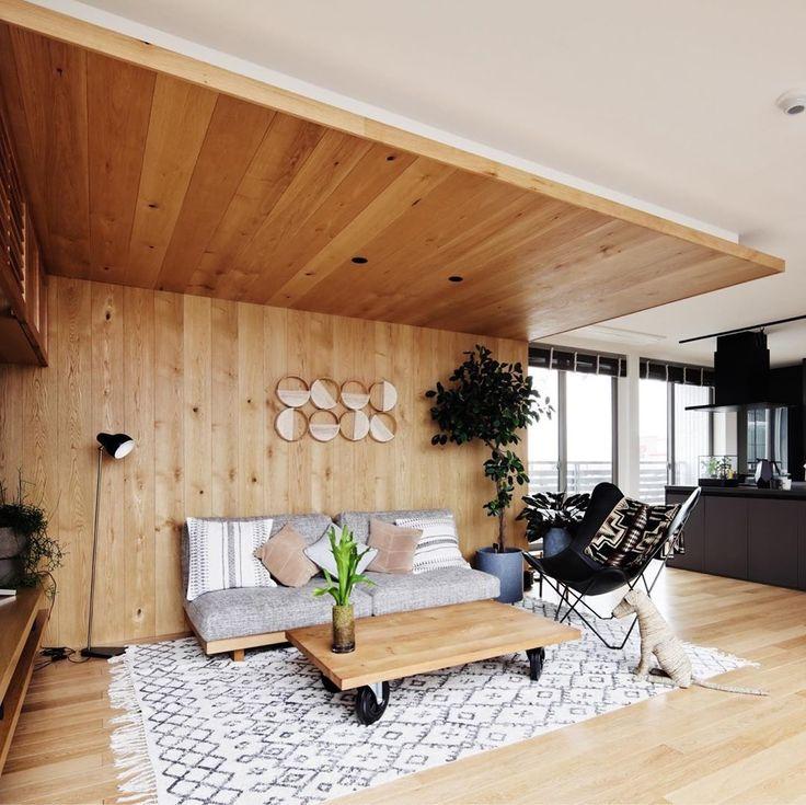 ヘーベルハウス 旭化成ホームズ株式会社 On Instagram 木貼りの天井と壁面で木の温もりが感じられる空間に 先日公開したシックな空間とはまた異なるインテリアスタイルが同じ建物内で見られるのも モデルハウスの魅力の一つです こちらはつくばハウジングハ
