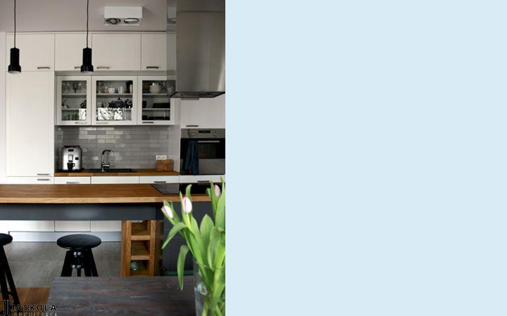 kuchnia - and kanałkiem - realizacja 2014 - projekt JJJASKOLA ARCHITEKCI