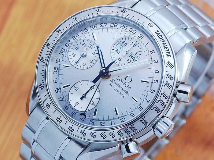 Catawiki online auction house: Omega Speedmaster Chronograph Triple Calender Automatic Watch!