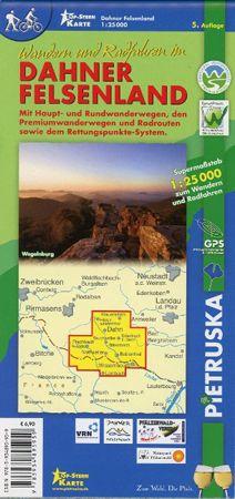 Dahner Felsenland Wanderkarte 1:25.000
