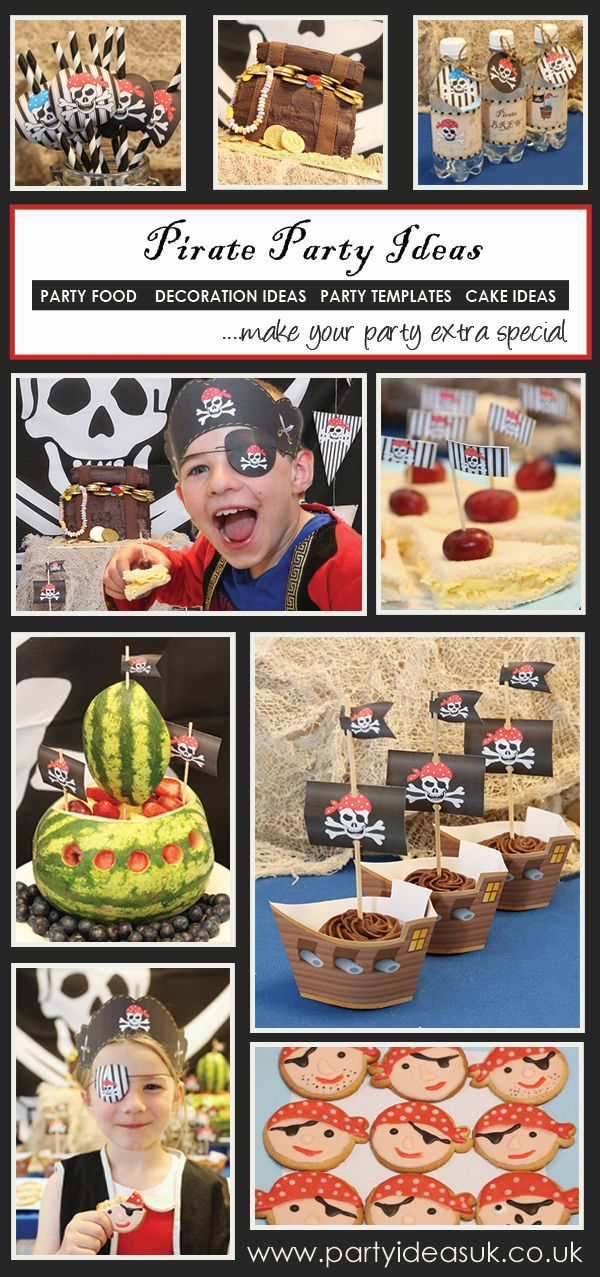Pirate Party Ideas, Pirate party