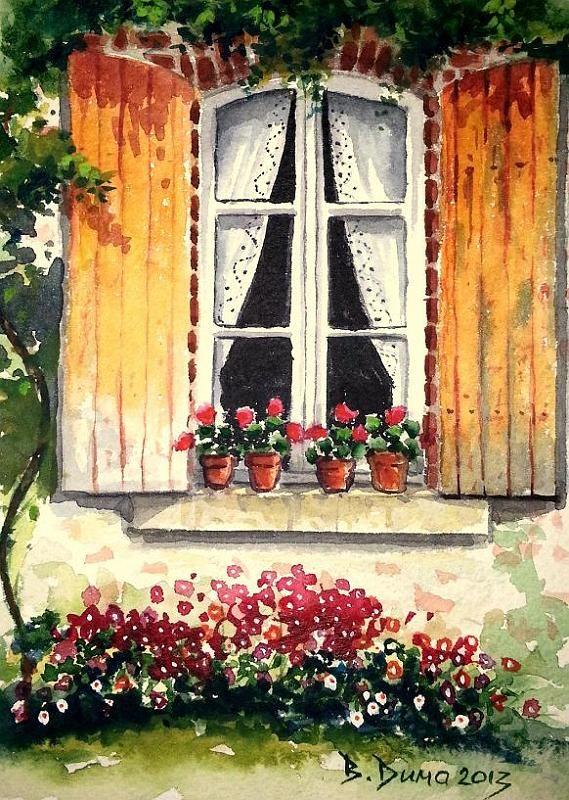 Berrin Duma Watercolors