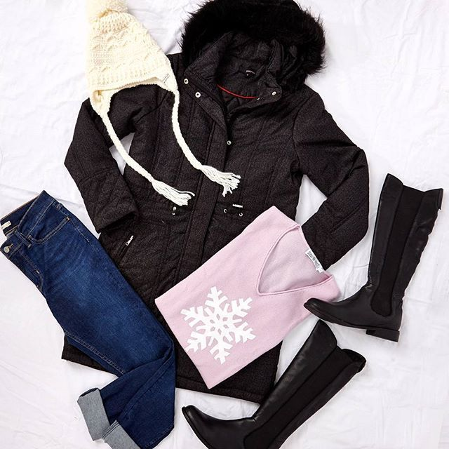 """Winter is here! Make sure you are staying warm and stylish! Outfit """"Let It Snow"""" available at birdsnest.com.au #birdsnestonline"""