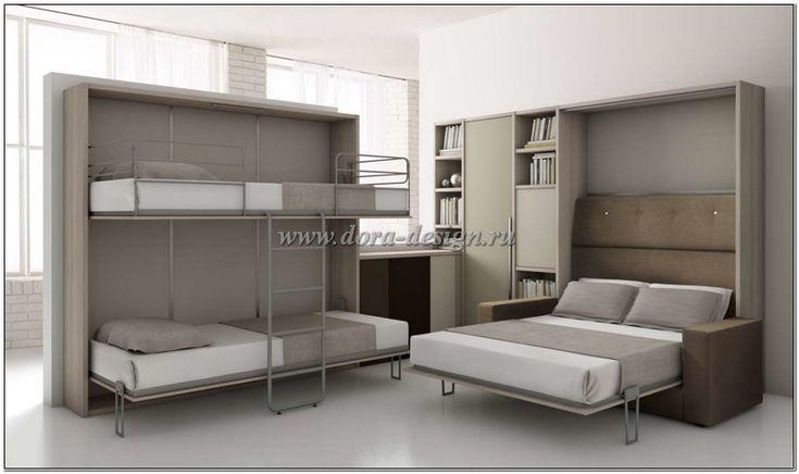 Кровать шкаф трансформер из Италии - Спальни модерн, итальянские спальни современные, современные спальни в стиле модерн с фото купить на заказ в Москве