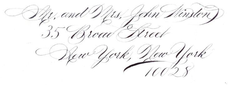 Professional Looking DIY Wedding Calligraphy!