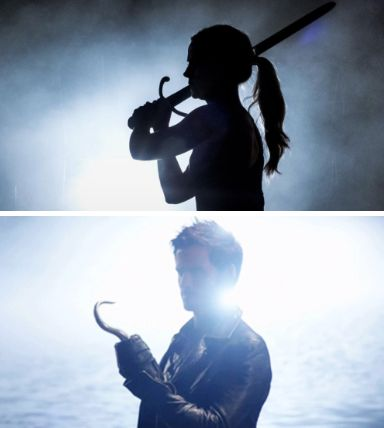 Those are the silhouettes of true love... that makes sense in my head I'm just gonna roll with it
