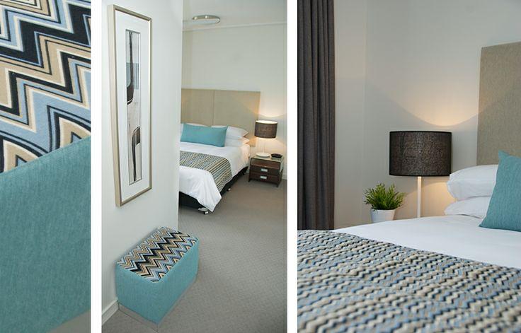 Dalgety Furniture Packages  - Via Touch Interiors. (Fabrics: HotelHome Simoni Gatsby Blue, Casa Plain Inca Blue)