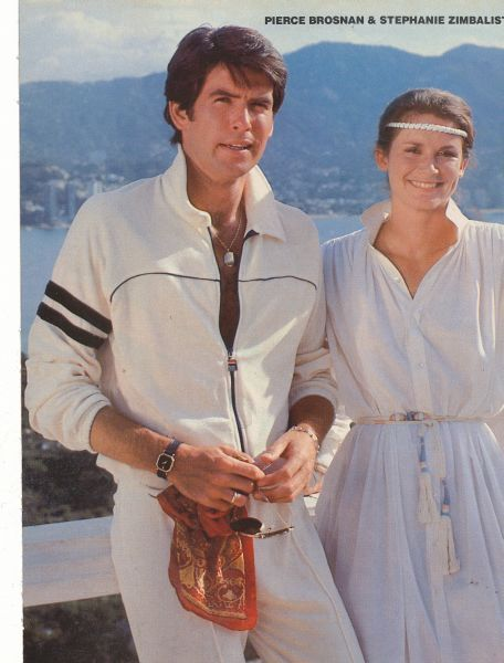 Reunited with a college roommate in D.C., rediscovered 80s fashion gems in the form of Remington Steele.