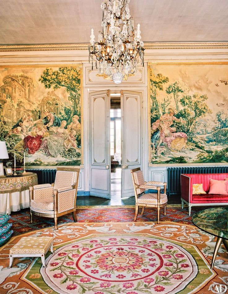 13 of the Most Elaborate French Châteaux Ever Featured in AD – Glam  Decor