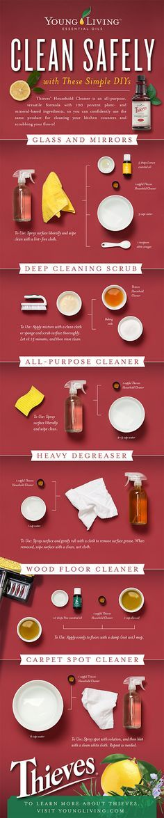 Anchored Living: Thieves Cleaner: Carpet Spot Cleaner