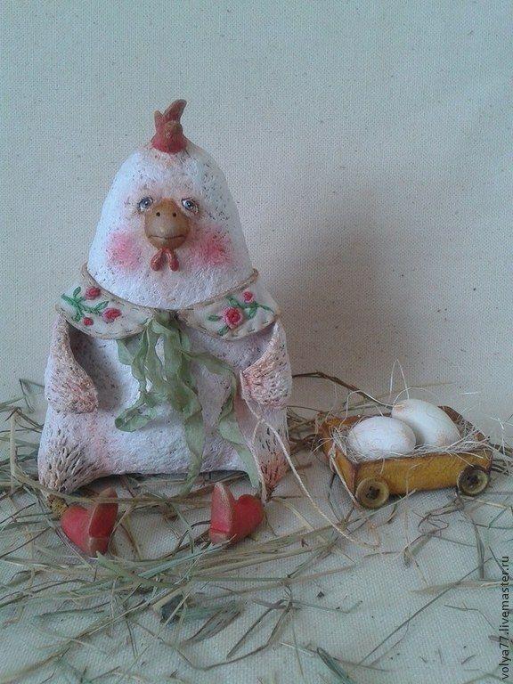 Курочка Рококо - белый,курочка,курочка ряба,подарок,прикольный подарок