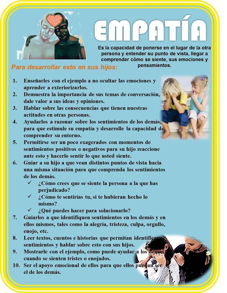 Monaco, E. (2013). Cómo fomentar la empatía de los niños. Obtenido de http://www.elportaldelhombre.com/con-hijos/item/766-como-fomentar-empatia-ninos