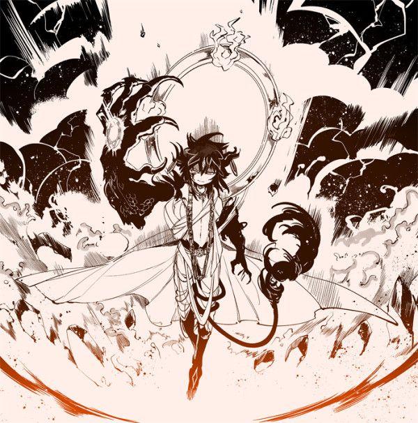 Magi The Labyrinth Of Magic Ugo: Magi The Labyrinth Of Magic Ren Kouen Djinn Equip
