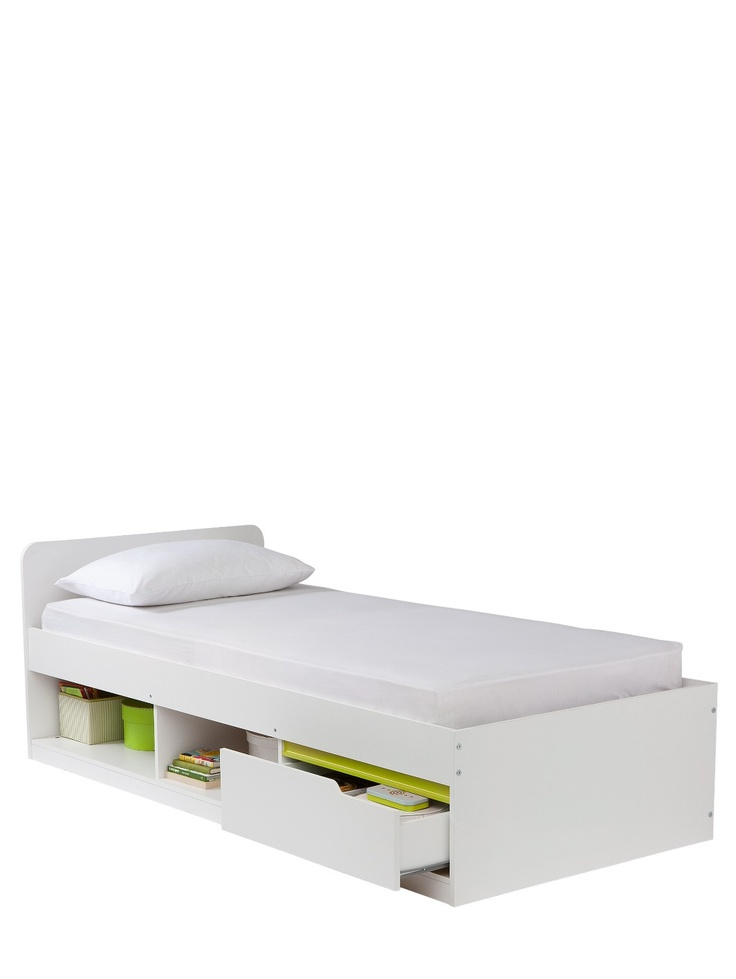 £219 - mattress included  Kidspace Jasper Single Storage Bed with Optional Assembly Service | woolworths.co.uk