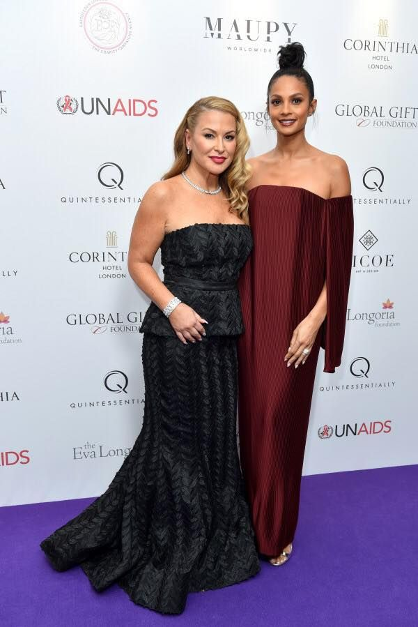 "NEWS: Anastacia attending the 7th Annual The Global Gift Gala this Saturday night, November 19, 2016 at Corinthia Hotel in London, UK #GGGLondon16 ""I am so honoured to accept the Our Heroes Award on behalf of the Global Gift Foundation. I will continue and urge others to support younger women who have been affected by breast cancer."" - Anastacia when receiving the award from Eva Longoria Baston"