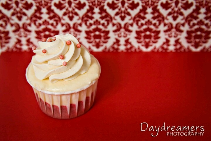 Red velvet cheesecake cupcakes! My favorite dessert in cupcake form