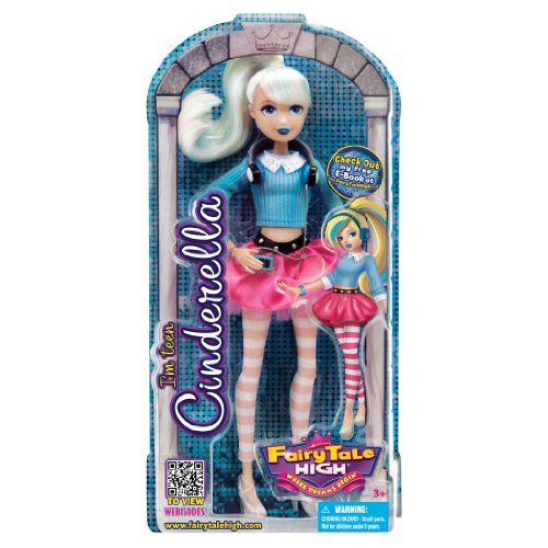 Teen Cinderella Doll