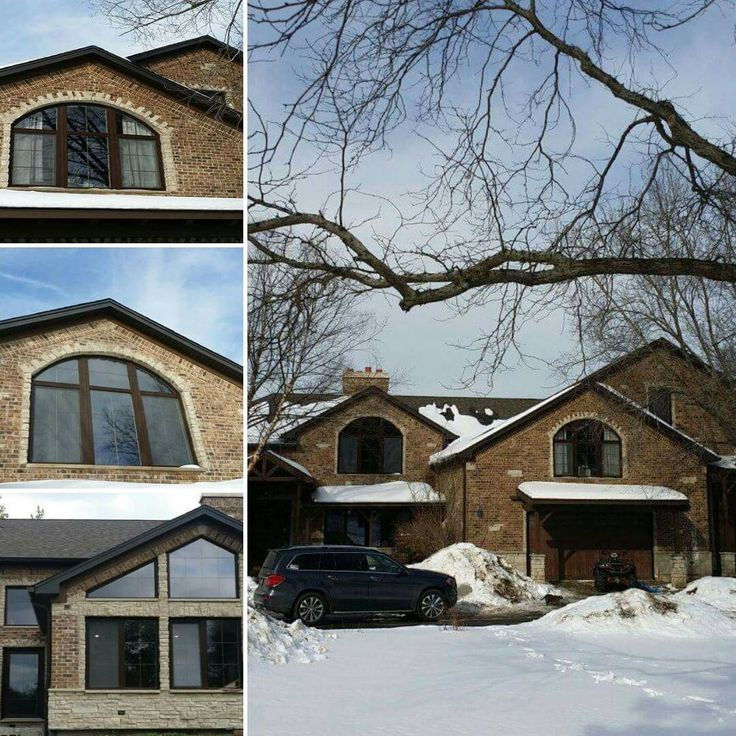 Zeman Residence - residential project in Kildeer, Energy star uPVC tilt and turn windows and doors from SWD