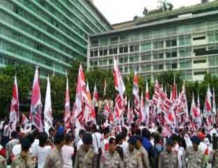 30 Ribu Pendukung Prabowo-Hatta di Bundaran HI Tuntut Hal Ini