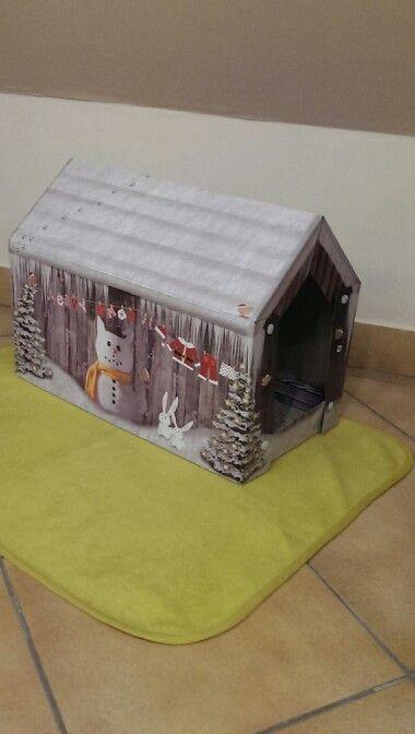 Pöcök téli házikója