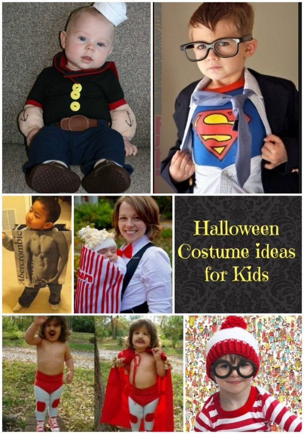 Halloween Costume Ideas for kids!!!