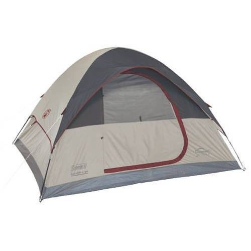 Family Camping Tent Outdoors Fishing Picnic Canopy 6 Person Man Dome Hiking Grey #FamilyCampingTent #Dome