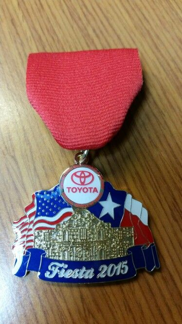 2015 Red McCombs Toyota Medal