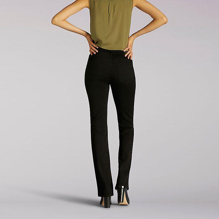 Lee Women's Platinum Label Comfort Fit Nellie Barely Boot - Petite Jeans (Size 12 SlimP)