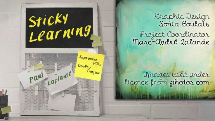 Sticky Learning by Paul Laplante