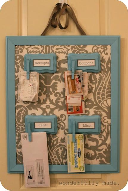 getting organized!: Organizations Ideas, Diy Crafts, Magnets Boards, Mail Organizations, Diy Organizations, Wooden Plaques, House, Get Organizations, Organizations Boards