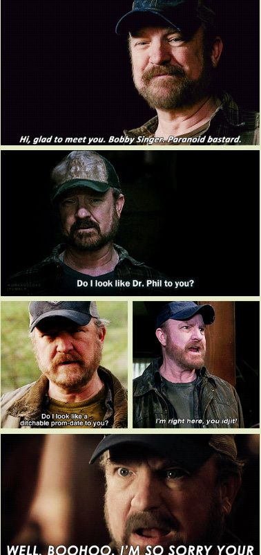[GIFSET] Bobby Singer, I miss you. Click through for full tribute :)