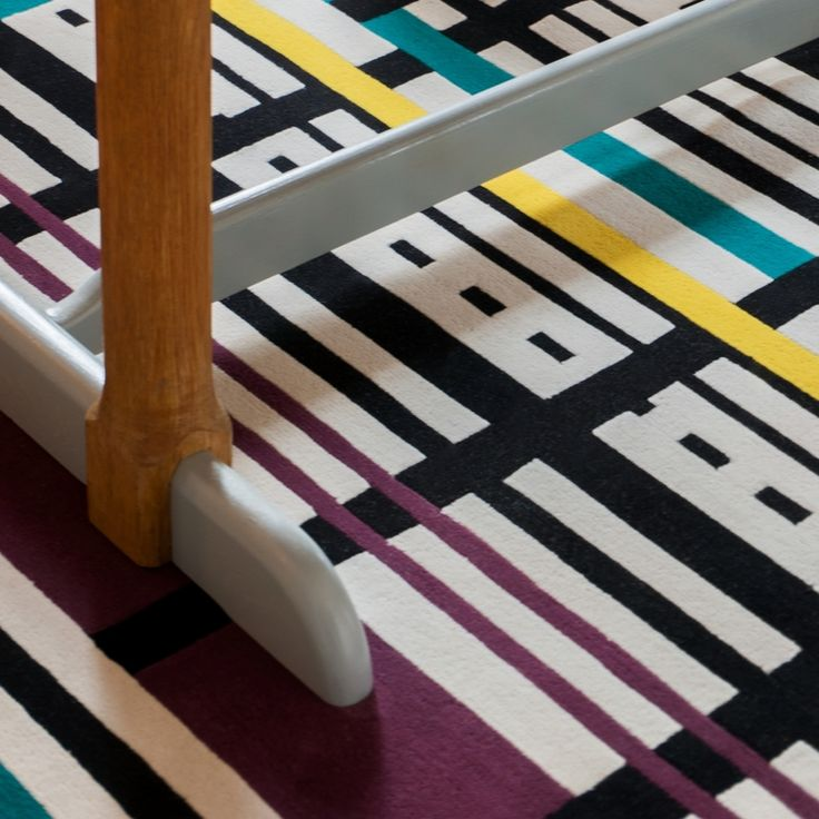 Dare to Rug <Ecstatic> from the 'Romanian Moods' Collection.   Hand-tufted with the best New Zealand wool.   #daretorug #daretodesign
