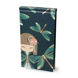 Cuaderno vertical con boligrafo Yuna Kimmidoll