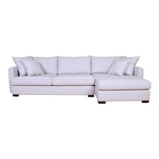 Crosby - Available in sofa, condo, or loveseat sizing. Also available as a sectional. VanGogh Designs. Available for order at Warehouse 74.