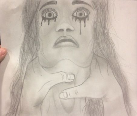 Sketch, Choked Girl