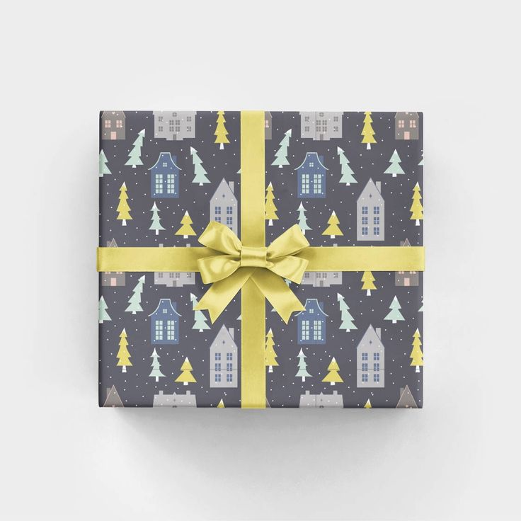 Zinc Houses Gift Wrap - 3 Flat Sheets // Scandinavian Christmas Wrapping Paper // Masculine Gift Wrap // Holiday Wrapping Paper WS1106 by RevelAndCo on Etsy https://www.etsy.com/listing/242665049/zinc-houses-gift-wrap-3-flat-sheets