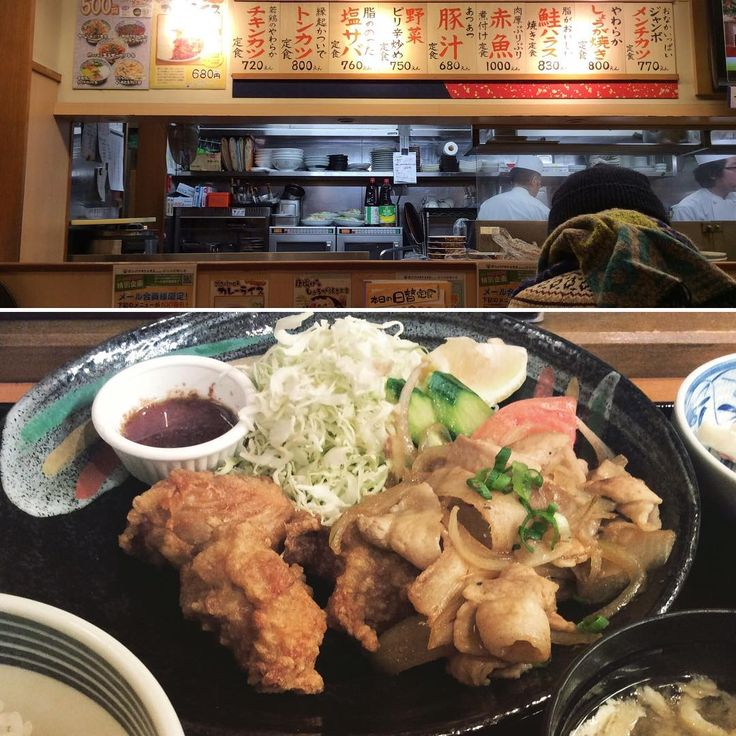 OFUKURONOAJI 3.5 SHOKUDO Sapporo  おふくろの味3.5食堂 札幌  Fried chicken and pork ginger plate    Follow us :   facebook : bit.ly/2hYao97   Pinterest : bit.ly/1P9qWot   Current Instagram : bit.ly/2gydwc6   Other Instagram : bit.ly/2gtYkPx   #pork #猪肉 #豬肉 #돼지고기 #เนื้อหมู #babi #thịtheo #carnedimaiale #carnedecerdo #schweinefleisch #porc #свинина   #鶏肉 chicken #鸡 #雞 #닭고기 #ไก่ #ayam #gà #pollo #Hähnchen #poulet #курица   japanesedish #japancuisine #japanesefood #japanesefoods   #sapporo #nightlifejp