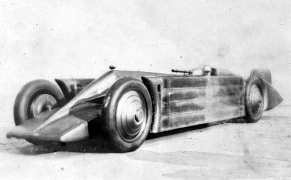 Golden Arrow, Land Speed Record car of 1929 driven by Henry Segrave