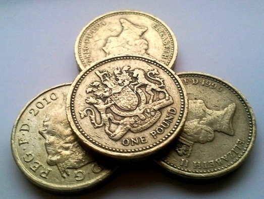 UK Pound Sterling coins
