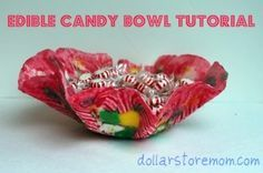 I love both the wreath version and the bowl.  Very Charlie and the Chocolate Factory.  I would love eating it.