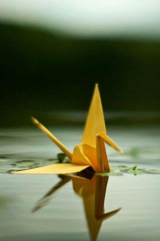 Paper Crane, Origami