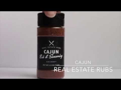 This Cajun Rub is the perfect vehicle for a long lasting and valued brand message. Get marketing dollar longevity while offering your sphere of influence something they will love and use often.   We customize your label. Just send us your professional image, logo & contact info. It's that easy!  #RealtorGiftIdeas   #RealtorMarketing