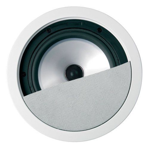 """KEF CI160.2QR In-Ceiling Speaker with 6.5"""" Uni-Q Driver by KEF. $219.00. The KEF Ci Series CI160QRII is high-fidelity flush-mount loudspeaker utilizing a fourth generation Uni-Q driver array. The driver array is mounted into a molded ABS baffle and along with KEF's simple and ingenious screw down clamping system - with moisture-resistant fixings - allows placement even in the harshest environments such as bathrooms or even under eaves. The bezel and stainless steel grille can ..."""
