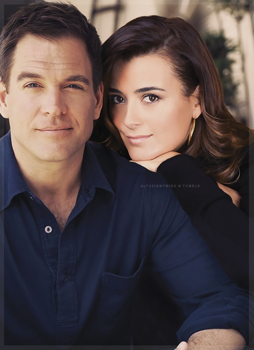 Tony and Ziva picture #Tiva Michael Weatherly and Cote de Pablo